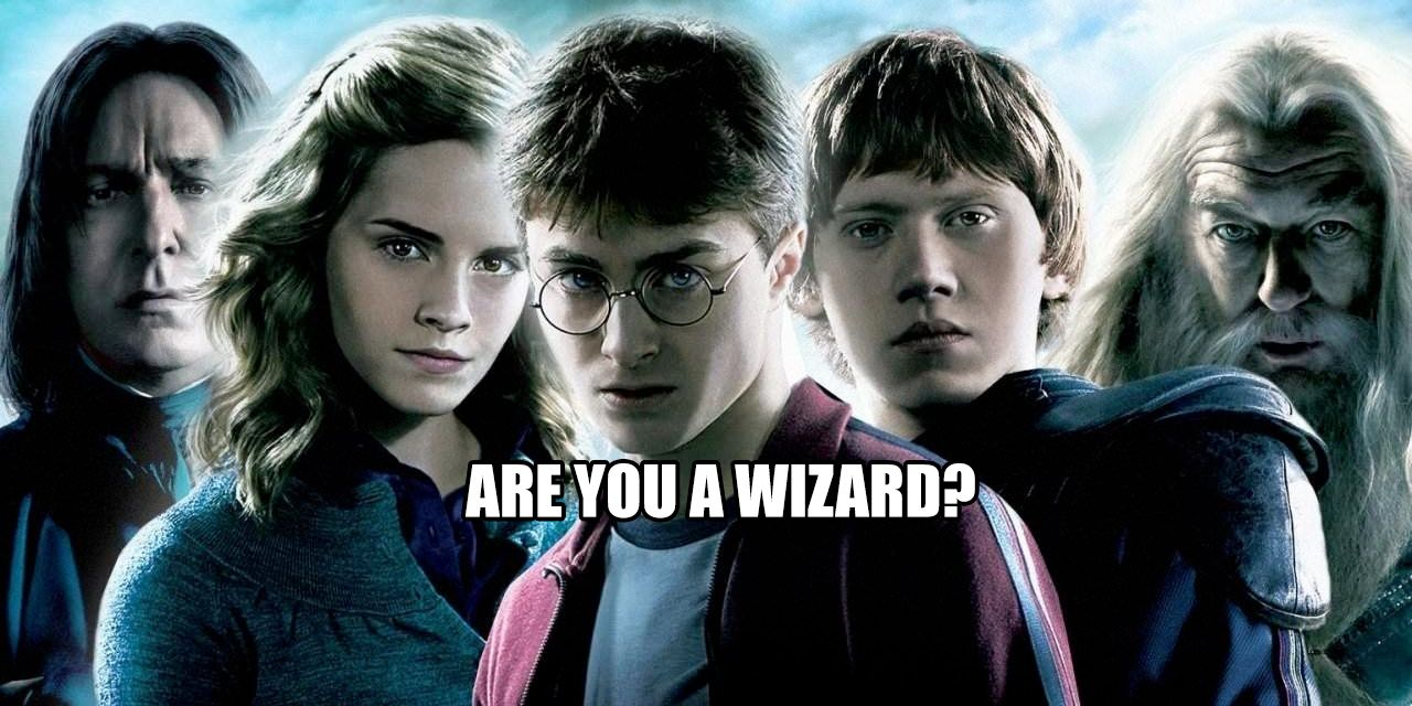 Are You A Muggle Or Wizard