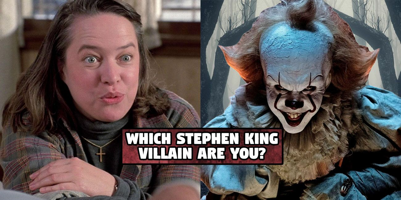 take the quiz to find out which stephen king monster you are