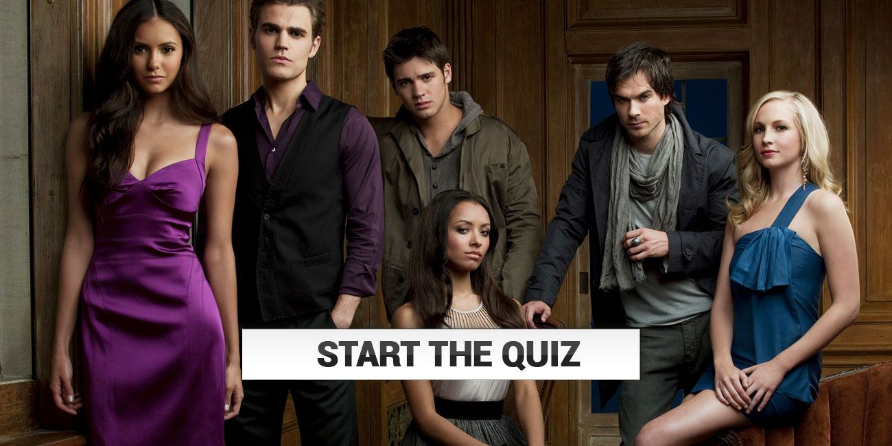How Well Do You Know The Vampire Diaries Thequiz