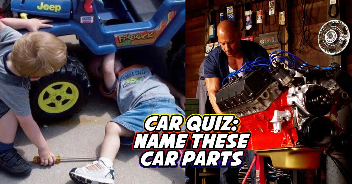 Only A Real Gearhead Can Name All These Car Parts, Can You?