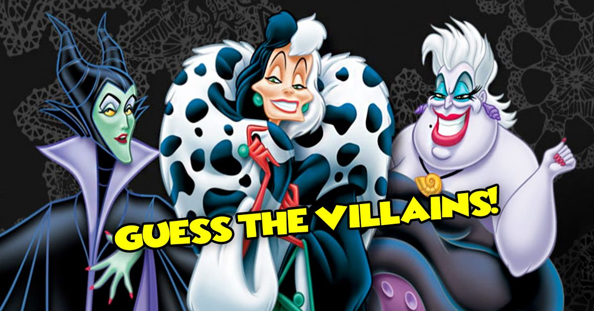 Can You Guess The Disney Villain By The First Line They Speak
