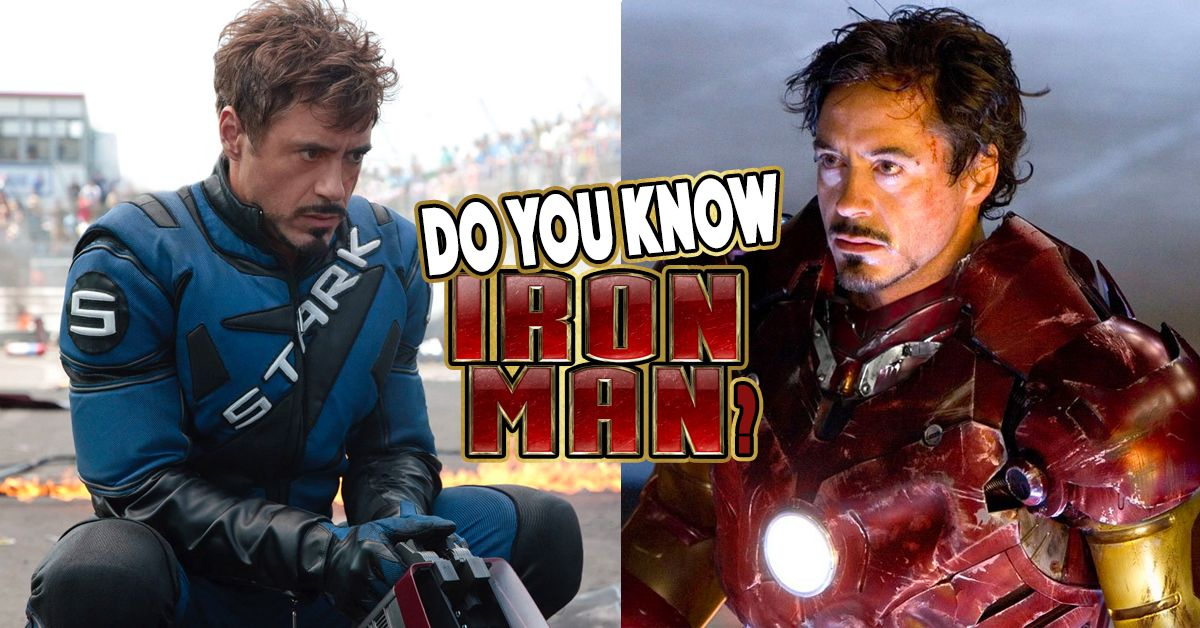 only a true fan will pass this iron man quiz