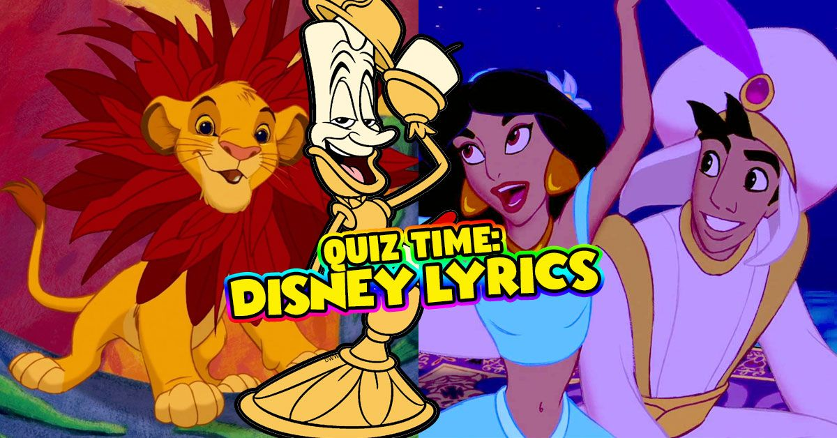 5d0f539b0 Finish The Lyrics  Disney Edition